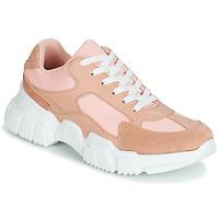 Cipők Női Rövid szárú edzőcipők Yurban JILIBELLE Rózsaszín