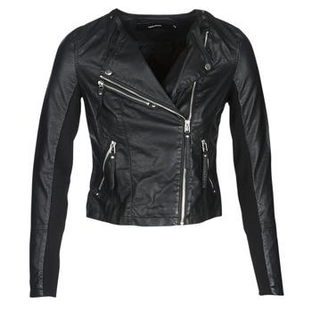 Ruhák Női Bőrkabátok / műbőr kabátok Vero Moda VMRIA FAV Fekete