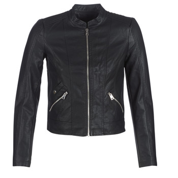 Ruhák Női Bőrkabátok / műbőr kabátok Vero Moda VMKHLOE Fekete