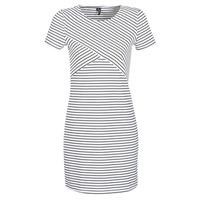 Ruhák Női Rövid ruhák Vero Moda VMVIGGA Fehér / Fekete