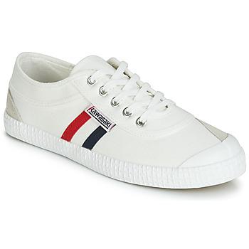Cipők Rövid szárú edzőcipők Kawasaki RETRO Fehér