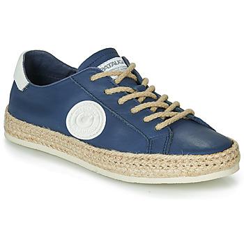 Cipők Női Rövid szárú edzőcipők Pataugas PAM /N Tengerész