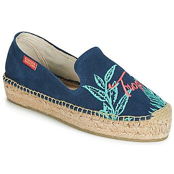 Cipők Női Gyékény talpú cipők Banana Moon VERAO Kék