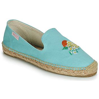 Cipők Női Gyékény talpú cipők Banana Moon LAIRIS Kék