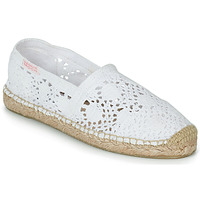 Cipők Női Gyékény talpú cipők Banana Moon NIWI Fehér