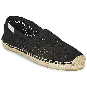Cipők Női Gyékény talpú cipők Banana Moon NIWI Fekete