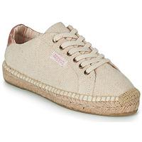 Cipők Női Gyékény talpú cipők Banana Moon PACEY Bézs