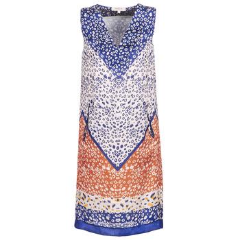 Ruhák Női Rövid ruhák Derhy FORTERESSE Fehér / Kék / Narancssárga