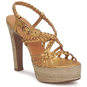 Cipők Női Szandálok / Saruk Michel Perry 12716 Arany