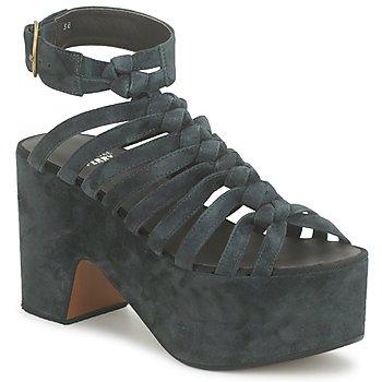 Cipők Női Szandálok / Saruk Michel Perry 12676 Sötét