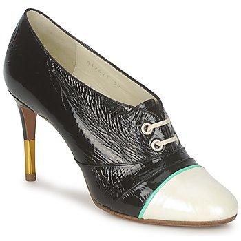 Cipők Női Bokacsizmák Michel Perry 12691 Gyöngyház-fekete