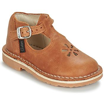 Cipők Gyerek Balerina cipők  Aster BIMBO Konyak