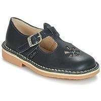 Cipők Gyerek Balerina cipők  Aster DINGO Tengerész