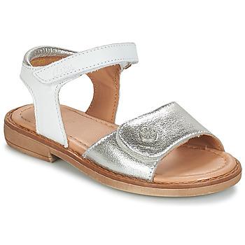 Cipők Lány Szandálok / Saruk Aster TRIXY Ezüst
