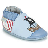 Cipők Fiú Baba mamuszok Robeez PIRATE'S BOAT Kék