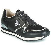 Cipők Férfi Rövid szárú edzőcipők Guess NEW CHARLIE Fekete