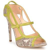 Cipők Női Szandálok / Saruk Roberto Cavalli RPS678 Piton / Zöld