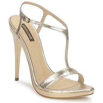 Cipők Női Szandálok / Saruk Roberto Cavalli RDS736 Arany