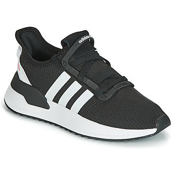 Cipők Gyerek Rövid szárú edzőcipők adidas Originals U_PATH RUN J Fekete