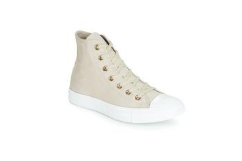 Cipők Női Magas szárú edzőcipők Converse CHUCK TAYLOR ALL STAR HEARTS CANVAS HI Szürke
