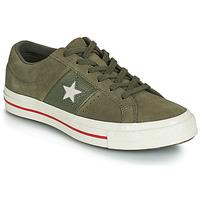Cipők Női Rövid szárú edzőcipők Converse ONE STAR CUIR FASHION BALLER SUEDE OX Keki