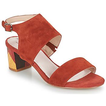 Cipők Női Szandálok / Saruk Metamorf'Ose EMBARQUA Piros