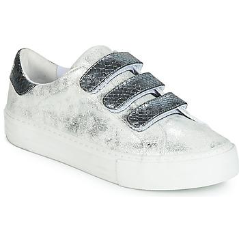 Cipők Női Rövid szárú edzőcipők No Name ARCADE Fehér / Szürke