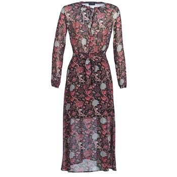 Ruhák Női Hosszú ruhák Ikks BN30065-02 Fekete  / Piros / Szürke