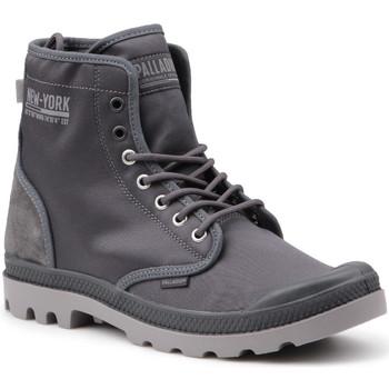 Cipők Férfi Magas szárú edzőcipők Palladium Manufacture Buty lifestylowe  Pampa Solid Ranger 76013-075-M szary
