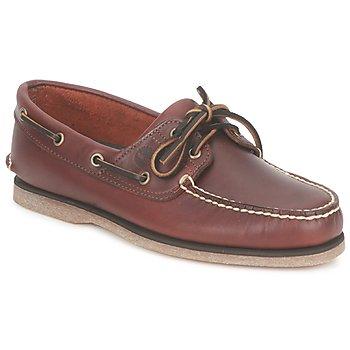 Cipők Férfi Vitorlás cipők Timberland CLASSIC 2 EYE Barna