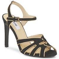 Cipők Női Szandálok / Saruk Moschino MA1604 Fekete