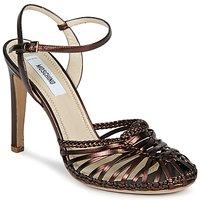 Cipők Női Szandálok / Saruk Moschino MA1603 Ébenfekete