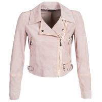 Ruhák Női Bőrkabátok / műbőr kabátok Guess JUNKO Rózsaszín