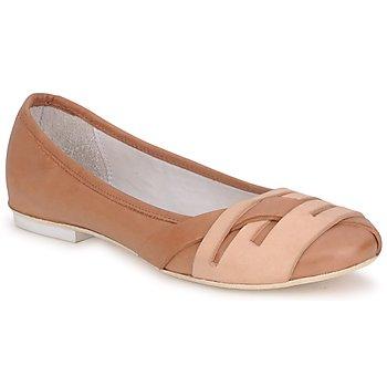 Cipők Női Balerina cipők / babák Marithé & Francois Girbaud BOOM Konyak