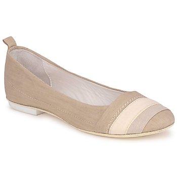 Cipők Női Balerina cipők / babák Marithé & Francois Girbaud BRUMES Bézs