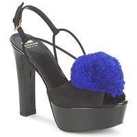 Cipők Női Szandálok / Saruk Moschino Cheap & CHIC CA1608 Ooc-fekete-kék / Kicsi