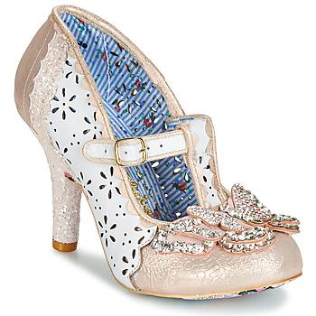Cipők Női Félcipők Irregular Choice PAPILLON Fehér