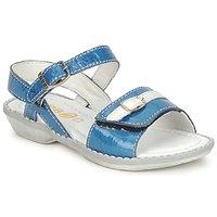 Shoes Lány Szandálok / Saruk GBB CARAIBES FIZZ Kék / Fehér