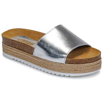 Cipők Női Papucsok So Size JITRUNE Ezüst