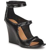 Cipők Női Szandálok / Saruk Premiata 2830 LUCE Fekete