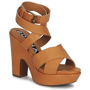 Cipők Női Szandálok / Saruk Rochas RO18082 Barna