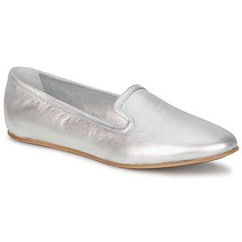 Cipők Női Mokkaszínek Rochas RO18101 Ezüst