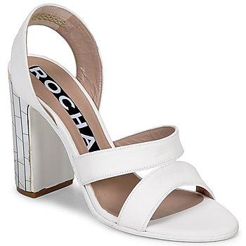 Cipők Női Szandálok / Saruk Rochas RO18244 Fehér