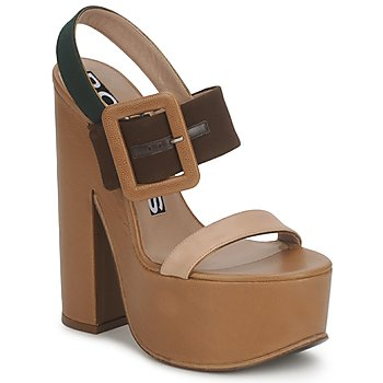 Cipők Női Szandálok / Saruk Rochas RO18231 Barna / Bézs
