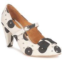 Cipők Női Félcipők Maloles CLARITA Fehér / Fekete