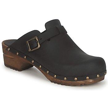 Cipők Női Klumpák Sanita KRISTEL OPEN Fekete