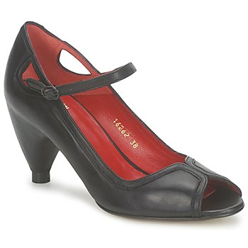 Cipők Női Félcipők Vialis POUPE Fekete