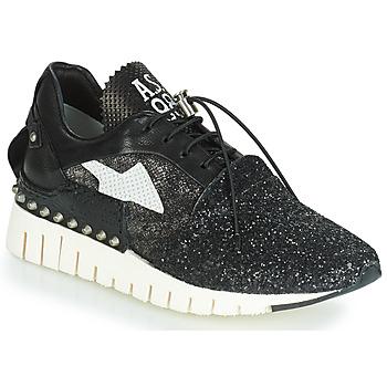 Cipők Női Rövid szárú edzőcipők Airstep / A.S.98 DENALUX Fekete