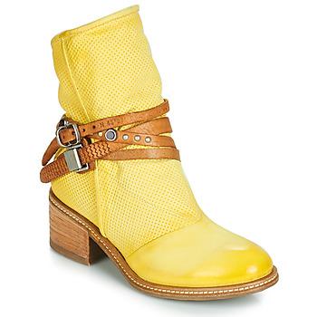 Cipők Női Csizmák Airstep / A.S.98 WINNIE STRAP Citromsárga