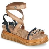 Cipők Női Szandálok / Saruk Airstep / A.S.98 LAGOS Bézs / Fekete
